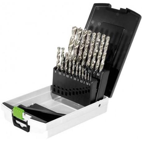 Festool  Box punte HSS punte in acciaio HSS D 1-10 Sort/19