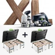 Kit Festool Domino XL DF 700 punte e tasselli