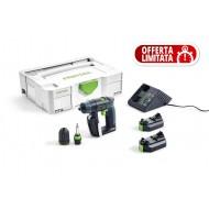 Festool Trapano avvitatore a batteria CXS Li 1,5 Plus
