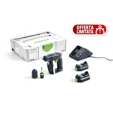 Festool Trapano avvitatore a batteria CXS Li 2,6 Plus