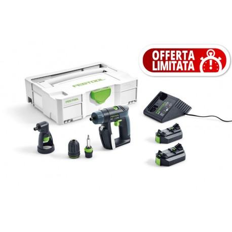 Festool Trapano avvitatore a batteria CXS Li 2,6 Set