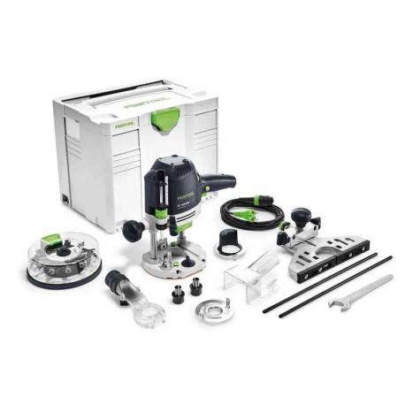 Festool Fresatrice verticale OF 1400 EBQ-Plus + Box-OF-S 8/10x HW