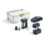 Festool Trapano avvitatore a batteria C 18 HPC 4,0 I-Plus
