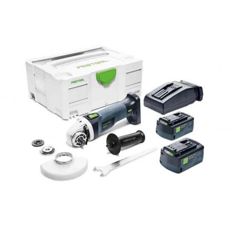 Festool Smerigliatrice angolare a batteria AGC 18-125 Li 5,2 EB-Plus