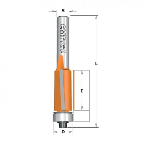 CMT Fresa per Rifilare diametro 9.5