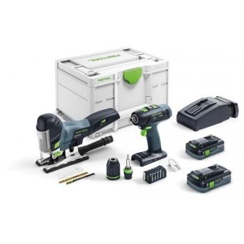 Festool Kit di montaggio a batteria T 18+3/PSC 420 Li 5,2-Set