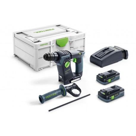 Festool Martello perforatore a batteria BHC 18 Li 5,2-Plus