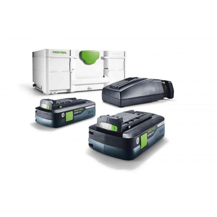 Festool Set Energia SYS3 ENG 18V 2x4,0/TCL6