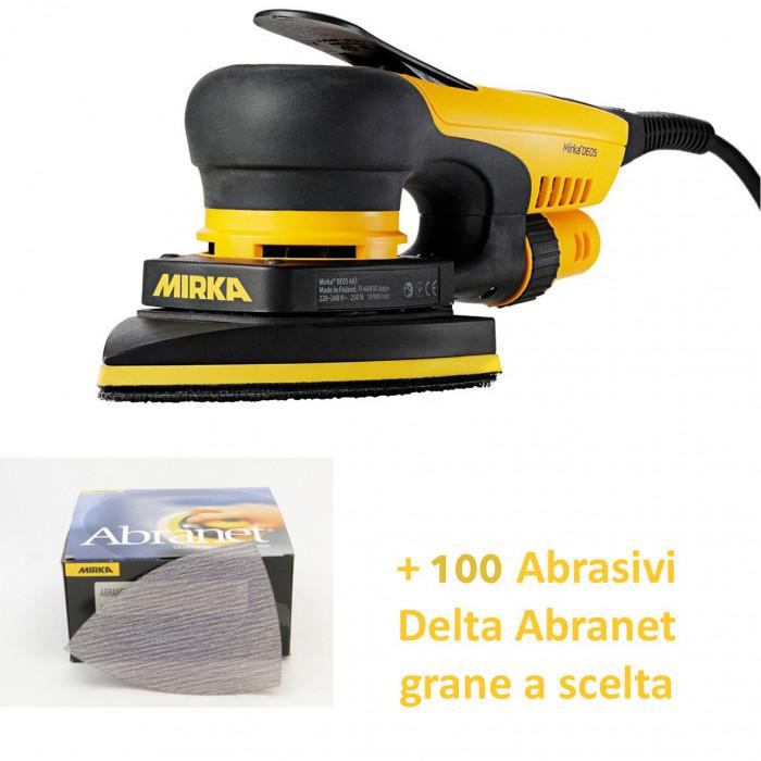 Mirka DEOS DELTA 663CV + 200 Abrasivi Abranet