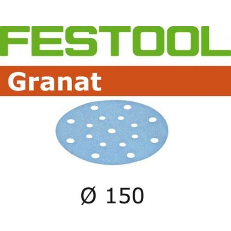 Festool Disco abrasivo STF D150 Granat 50 pezzi
