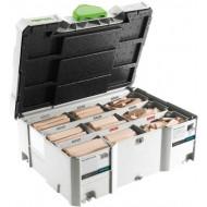 Festool Assortimento DOMINO XL faggio DS/XL D8/D10 306x BU