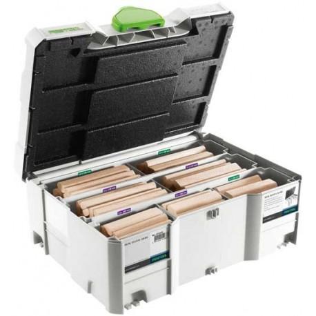 Festool Assortimento DOMINO XL faggio DS/XL D12/D14 128x BU